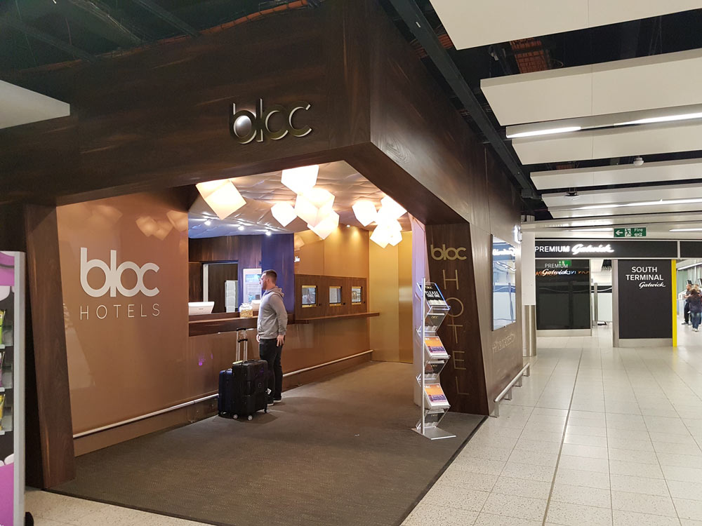 Bloc Hotel South Terminal Gatwick Airport