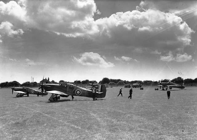 31 July 1940 worldwartwo.filminspector.com RAF No. 32 Squadron