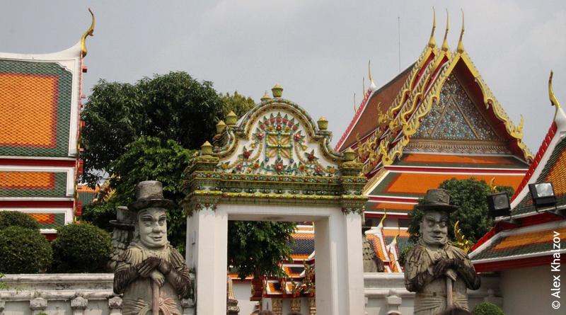 охранники ворот