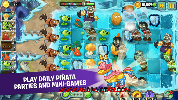 Free Download Plant Vs Zombie 2 Apk Mod + Data v5.9.1 (Unlimited Coins/Gems) Android Terbaru 2017 Gratis