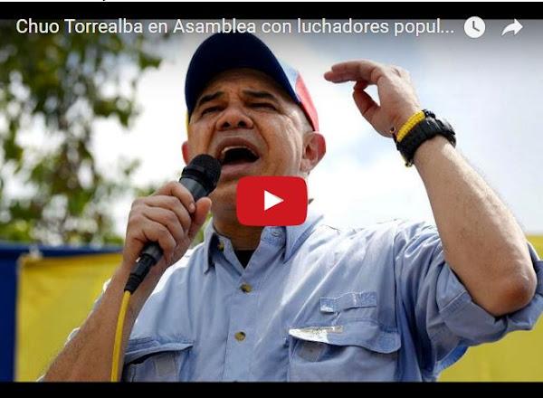 Chúo Torrealba recomienda a todos inscribirse en las misiones