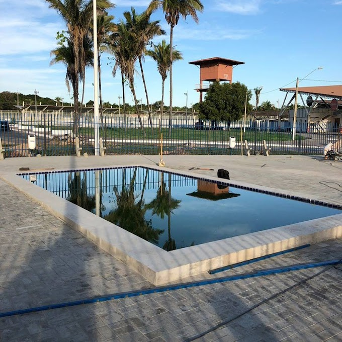 INFRAESTRUTURA – Nova área de lazer dentro do Parque Balneário Veneza está quase pronta