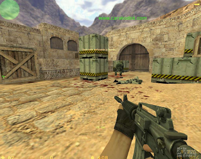 counter strike 1.6 senjata