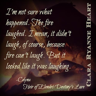 Teaser Tuesday: The Fire Laughed 1