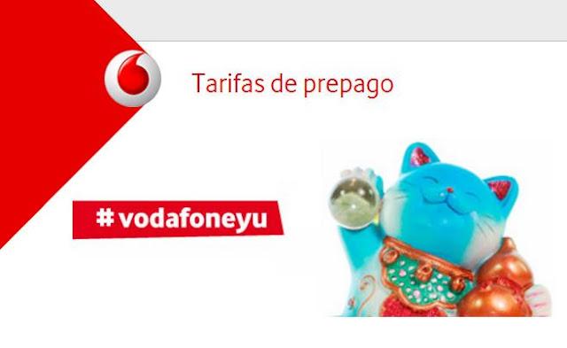 Vodafone prepago recarga