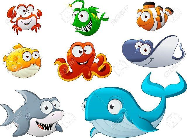 ✓ Terbaru Gambar Kartun Hewan Laut Lucu
