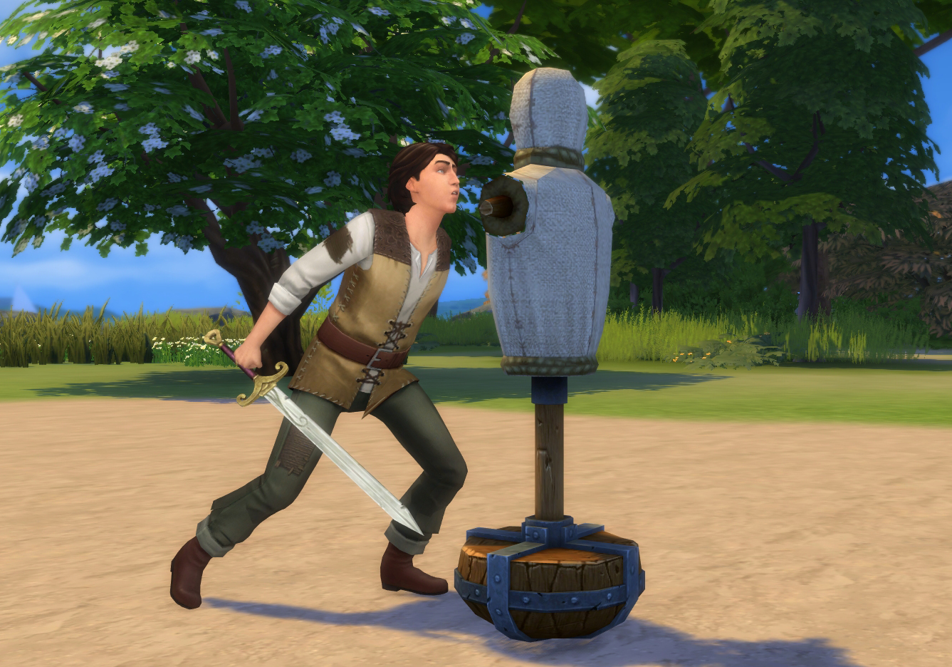 ts4 practice sword fighting mod history lovers sims blog