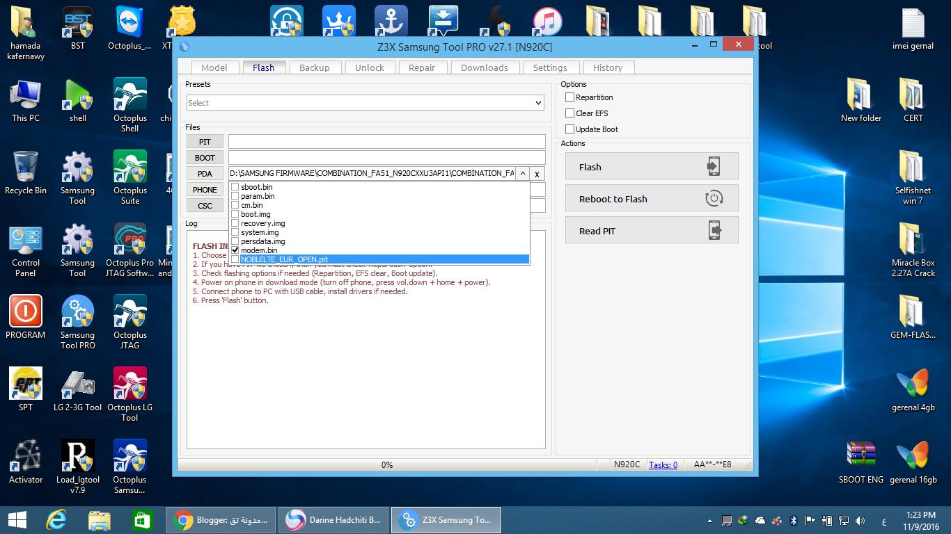 حصريآ ومجانآ : طريقة تغير IMEI وعمل PATCH CERT لسامسونج SM-G925T على