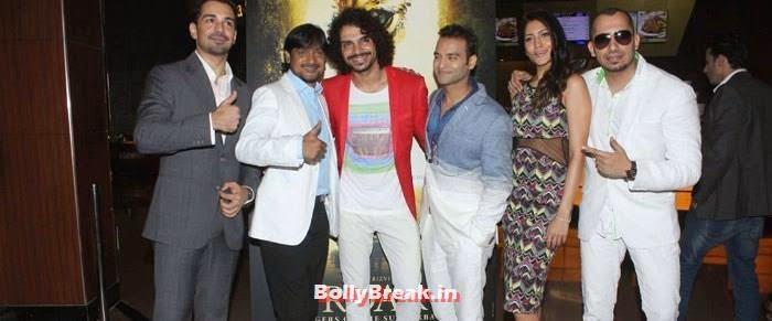 Abhinav Shukla, Aadil Chahal, Himarsha Venkatsamy, Ali Quli Mirza, Celebs at 'Roar' Movie First Look Launch