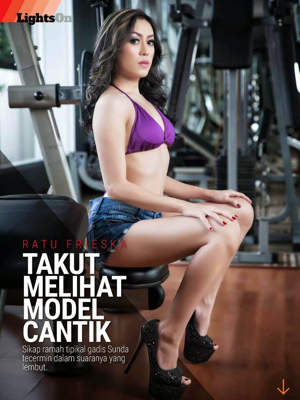Ratu Frieska LIGHTS ON Edisi 120 FEB 2015