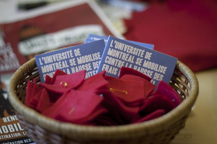 L'Université de Montréal se mobilise contre la hausse des frais de scolarité