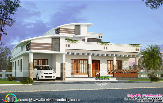 2370 sq-ft modern 4 bhk home