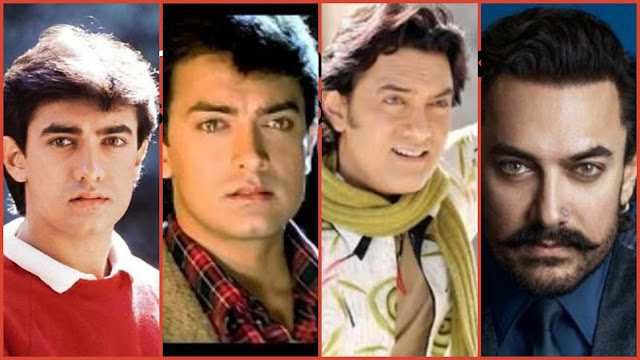 then and now aamir