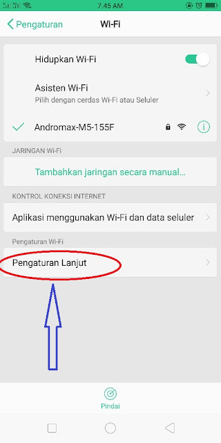 Cara Mudah Mengetahui Mac Address HP Android dan tablet