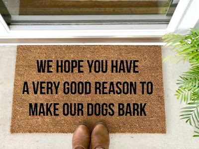 We hope you……Doormat