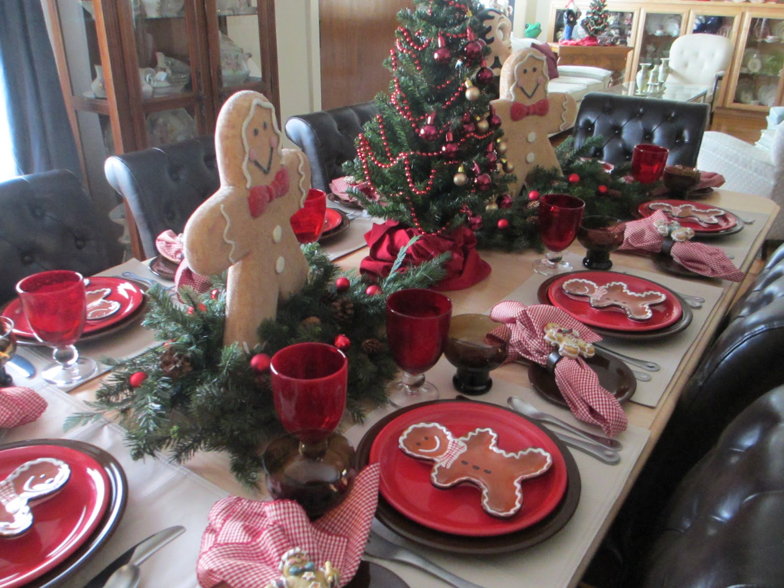 The Welcomed Guest Gingerbread Tablescape