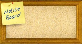 2017 SYCA Notice Board