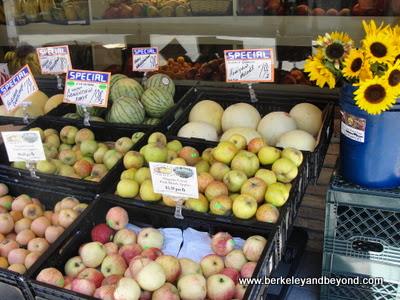 produce at Mill Valley Market in Mill Valley, California