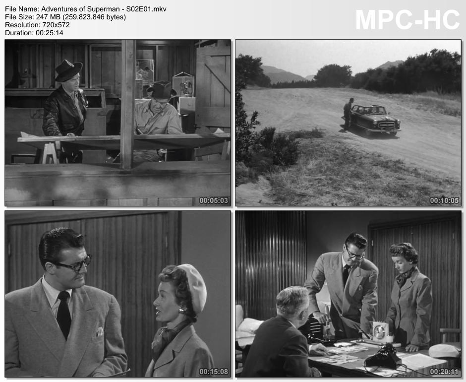 [size=14][b]AS AVENTURAS DO SUPER-HOMEM (SÉRIE PARA TV) – 1952-1958 1