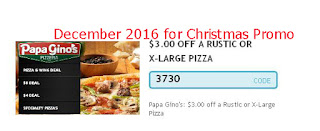 Papa Gino's coupons for december 2016
