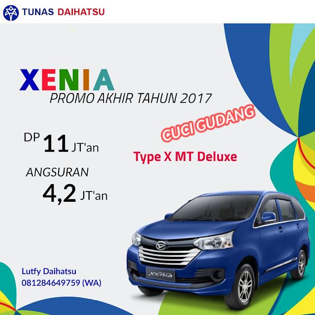 Promo Daihatsu xenia X Deluxe jakarta timur