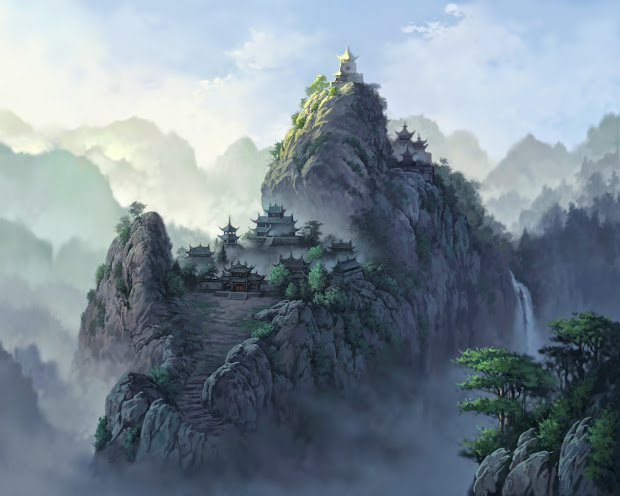 Creative Art & Artworks Amazing Oriental Landscape Artwork