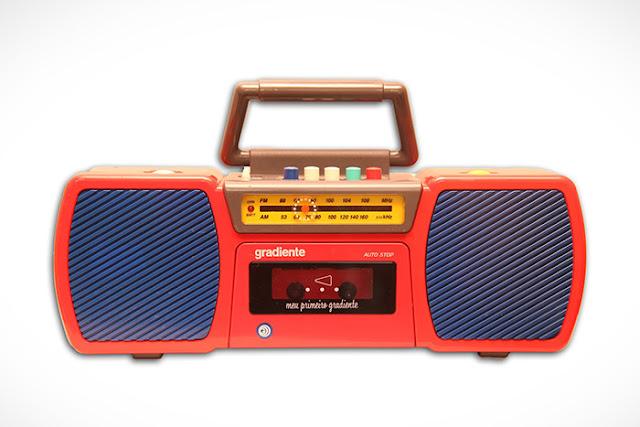 Meu primeiro Gradiente estilo rádio/sistema de som