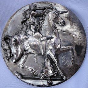 Salvador Dali Auction Results Watch Unicorn Dyonisiaque