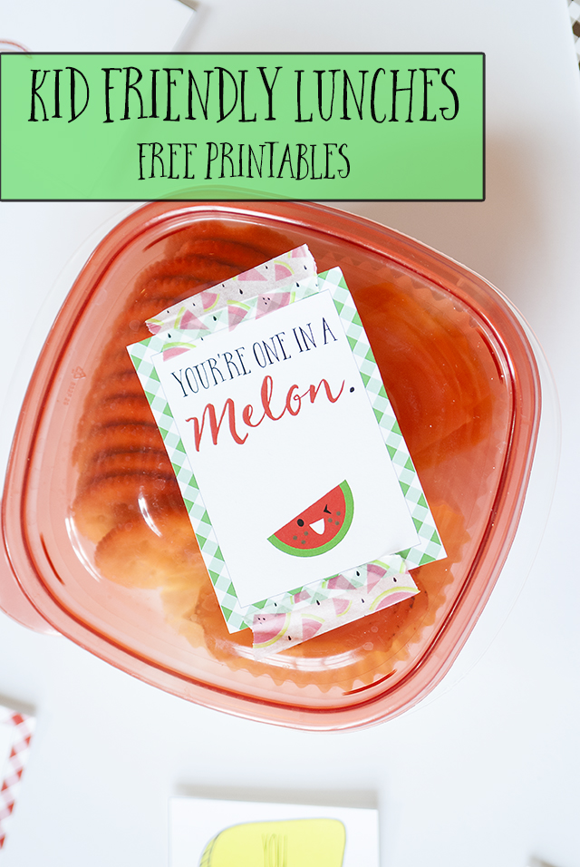 Kid-Friendly Lunch Ideas and Free Lunchbox Printable