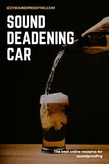 sound deadening car