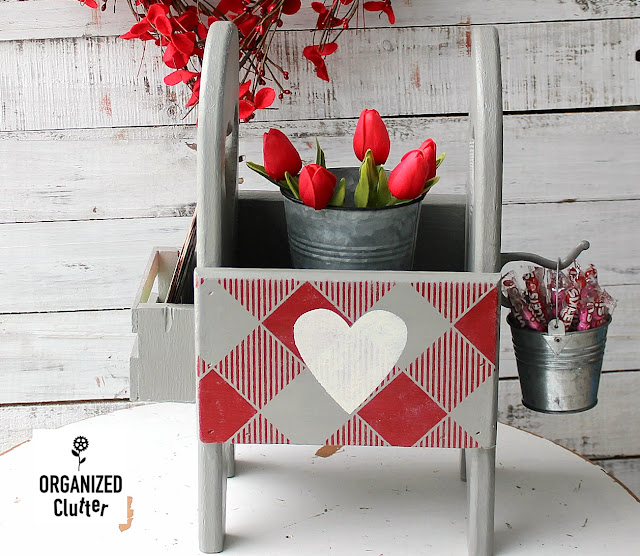 Valentine's Day One Piece Decor with Thrift Shop Finds