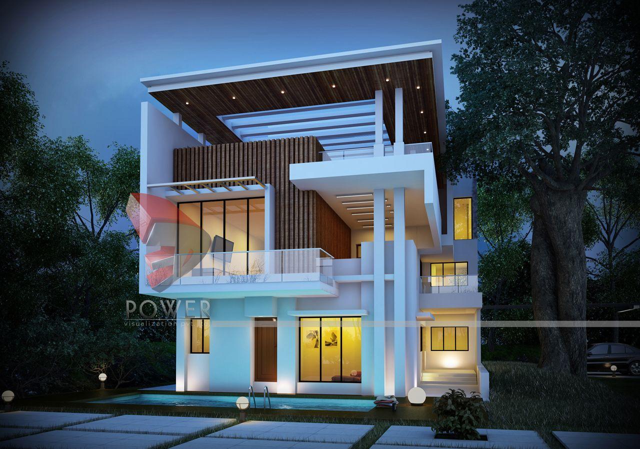 Elevation bungalow elevation outlook wonderful exterior 3d rendering