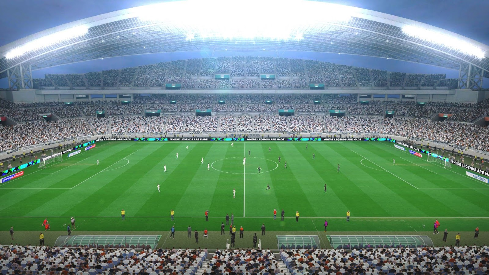 PES 2017 Pack Stadiums + Graphics PS4 + FIX v1 1 by Estarlen Silva