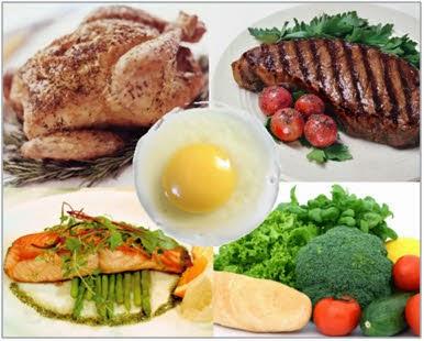 Mangez des protéines, les lipides et les légumes