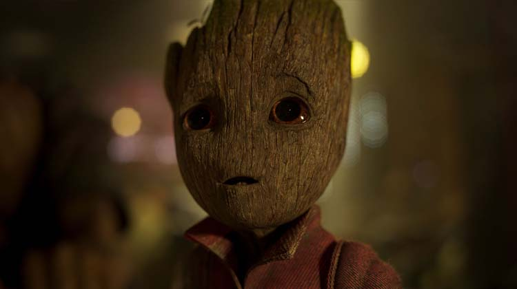 El Bebe Groot  de Guardianes de la Galaxia Vol. 2