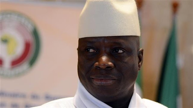 Gambia's government freezes $50 million of ex-president Yahya Jammeh's assets