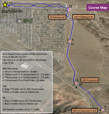 Recycled Run Course Map