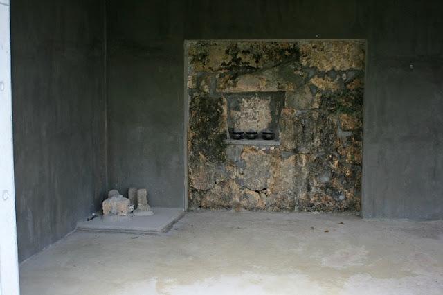 稲福殿の内部の写真