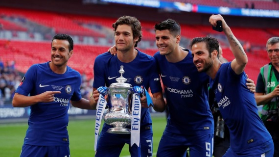 Pedro,Marcos Alonso, Alvaro Morata,and Cesc Fabregas left out of Spain's squad