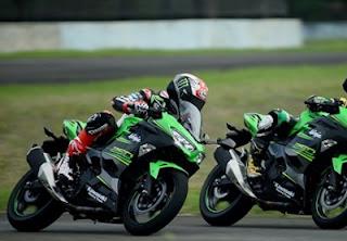 sirkuit balap Kawasaki Ninja 250 cc 2018