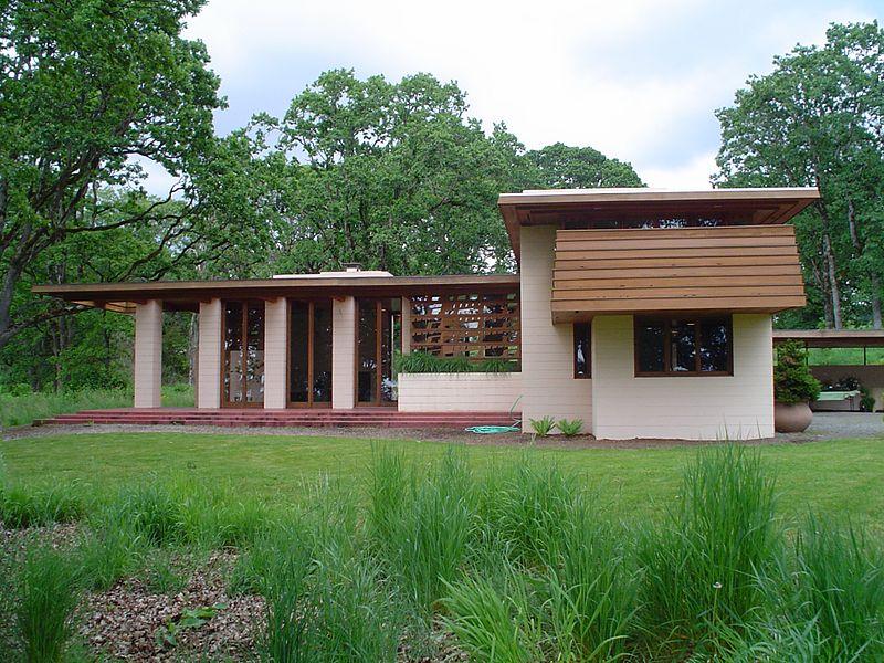 Birg 252 N Bir Yerde Organik Mimarisiyle Frank Lloyd Wright