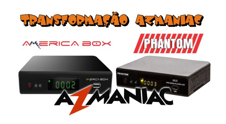 Américabox AMB3606 Transformado em Phantom Bios