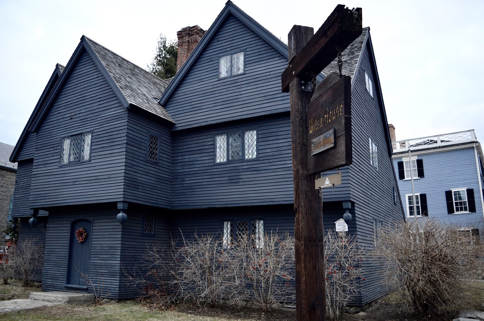 The Witch House Salem trip