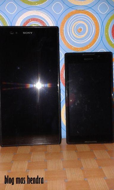 Perbandingan Ukuran Sony Xperia Z Ultra dan Sony Xperia C