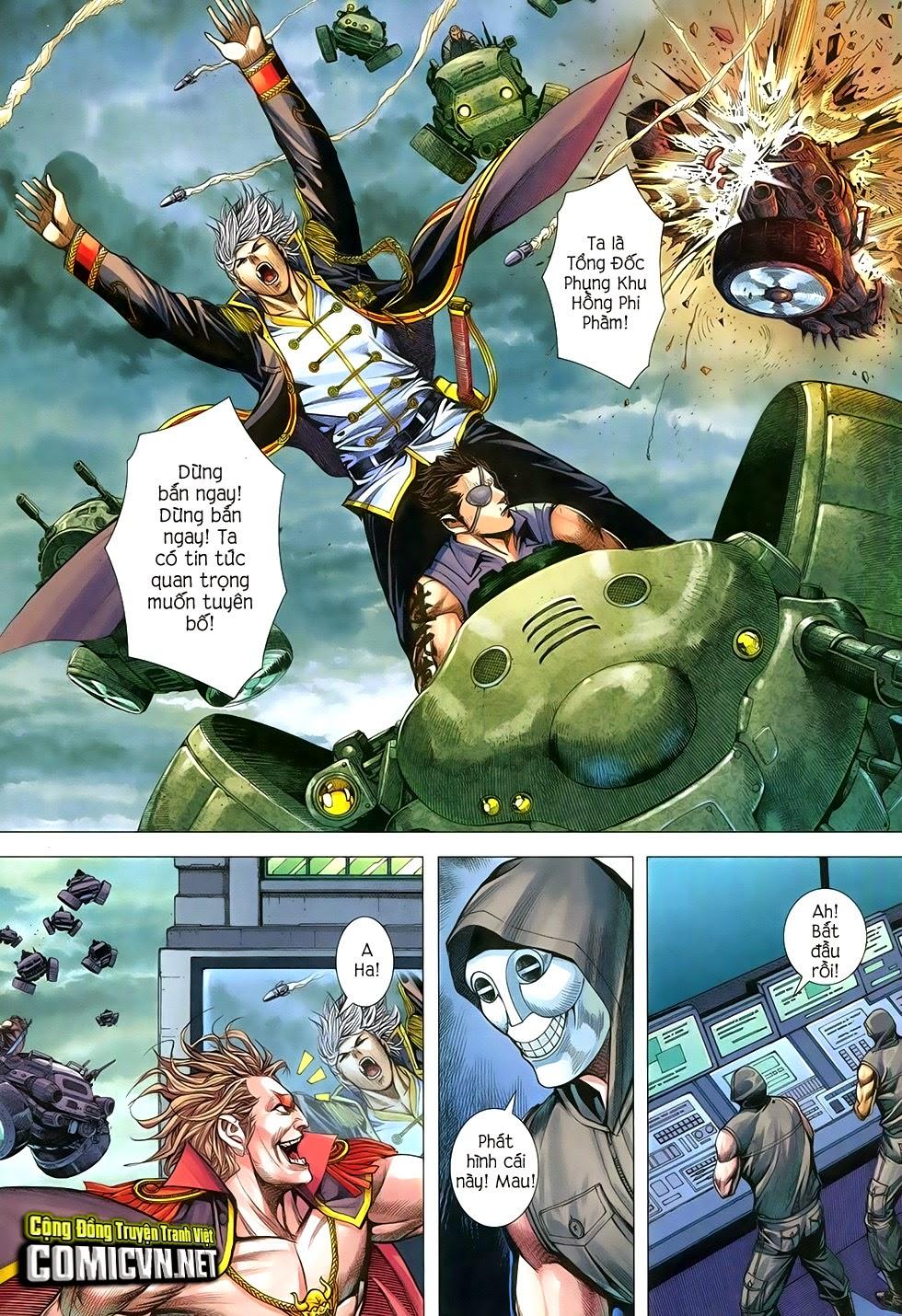 Đại Quân Phiệt chap 29 trang 24