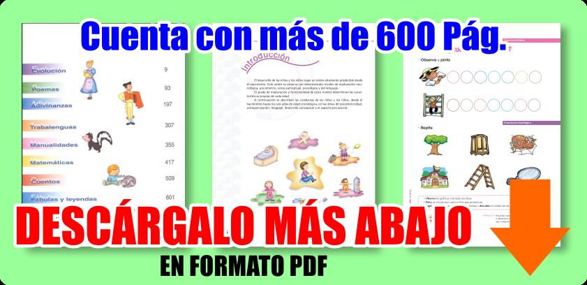 El Gran Libro De La Maestra De Preescolar ¡GRATIS En PDF