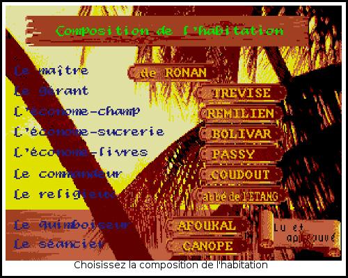 [TEST]ROM - Les Guerriers de l'ombre - Atari St/Amiga Freedom7
