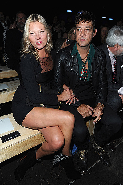 Kate Moss and Jamie Hince