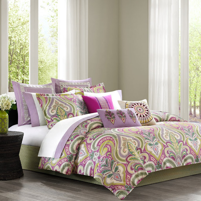Purple Paisley Comforters Amp Bedding Sets