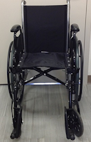 Adult Manual Wheelchair black picture